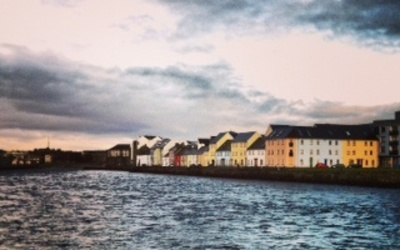 Colorful Houses in Galway