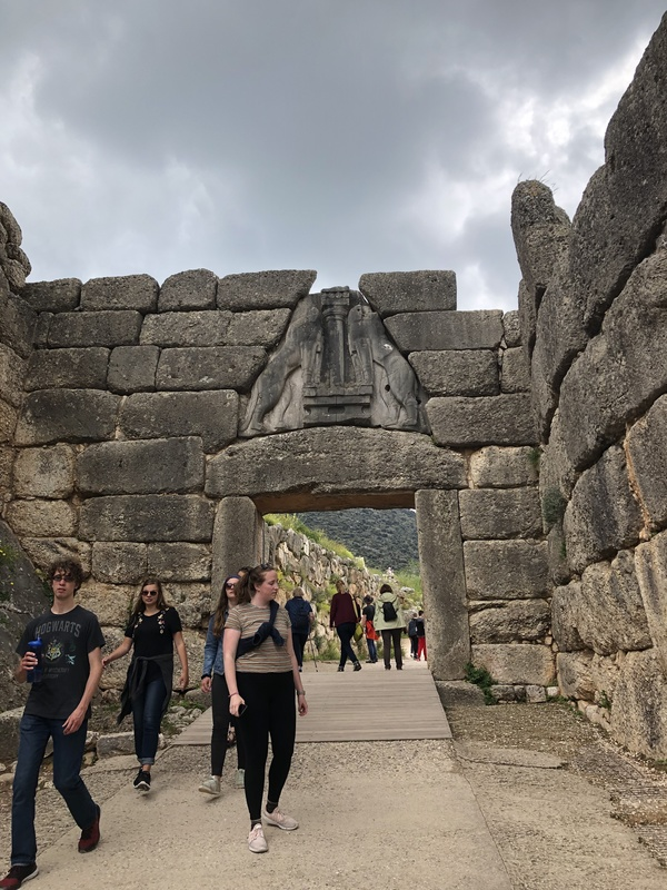 "The Lion Gate at Mycenae<a href=""/reason/images/865441_orig.jpg"" title=""High res"">&prop;</a>"