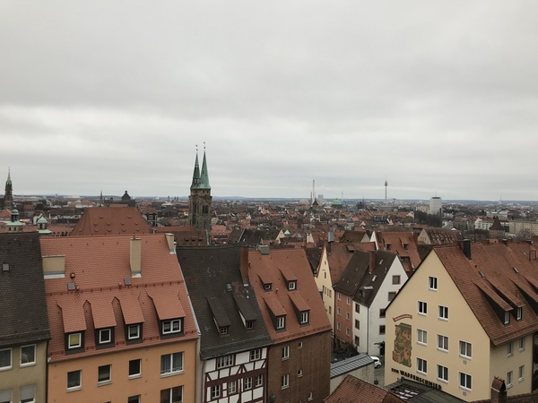 "View of the city from Nuremberg Castle<a href=""/reason/images/795443_orig.jpg"" title=""High res"">∝</a>"