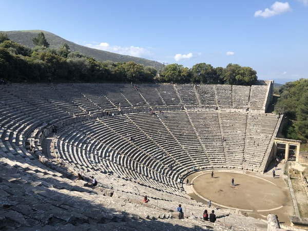 "The Theater of Epidaurus<a href=""/reason/images/865445_orig.jpg"" title=""High res"">&prop;</a>"
