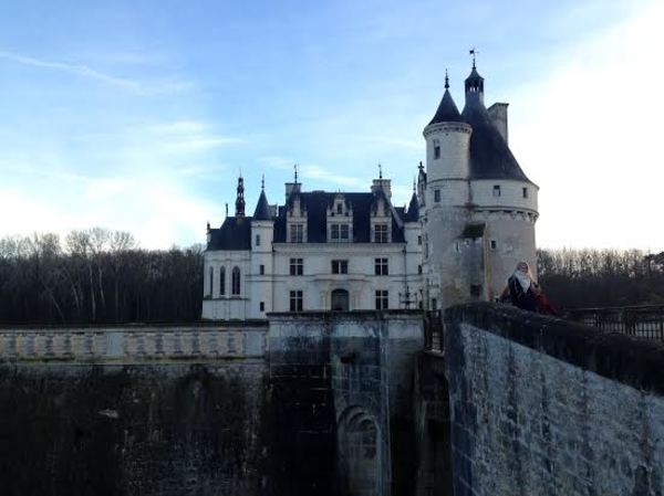 The beautiful Château de Chenonceau, or the Château des Dames. Most beautiful castle we've visited yet!