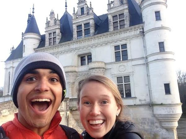 What better way to show excitement for this castle than to take a selfie? We're not tourists, I promise!