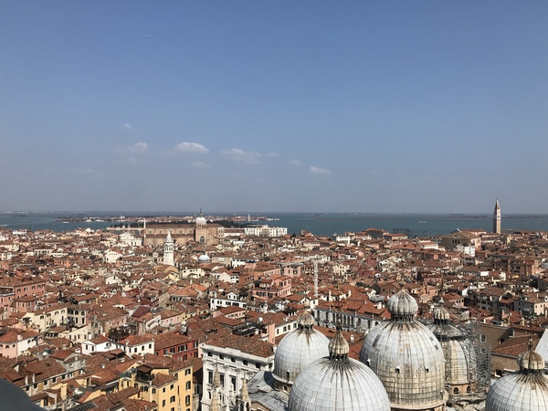 "View of Venice from the Campanile di San Marco<a href=""/reason/images/809457_orig.jpg"" title=""High res"">∝</a>"