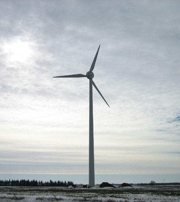 750 kW Community Wind Turbine Project, St. Ansgar, IA
