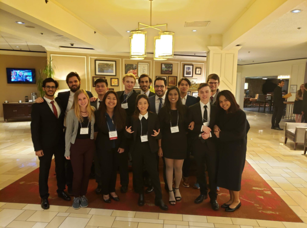 The Luther College MUN delegation at the 60th MUN conference in St. Louis, MO.
