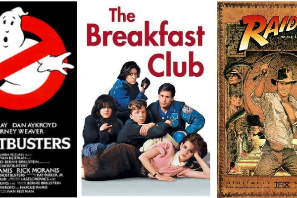 Vote for which 80s movie we show for an outdoor movie!