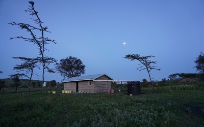 The final night in Eluwai. The Luther House was funded by Luther College as a place for students to gather and eat meals.
