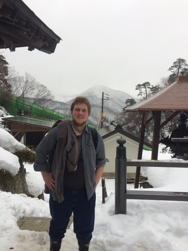 "Author, Ben Ostrem, during a hike in Japan<a href=""/reason/images/800496_orig.jpg"" title=""High res"">∝</a>"