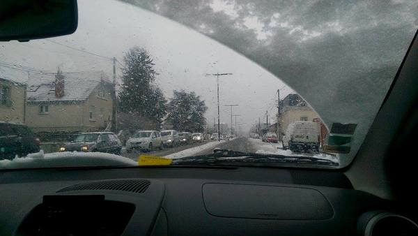 "A view of the snow from inside the nice warm car.<a href=""/reason/images/671500_orig.jpg"" title=""High res"">∝</a>"