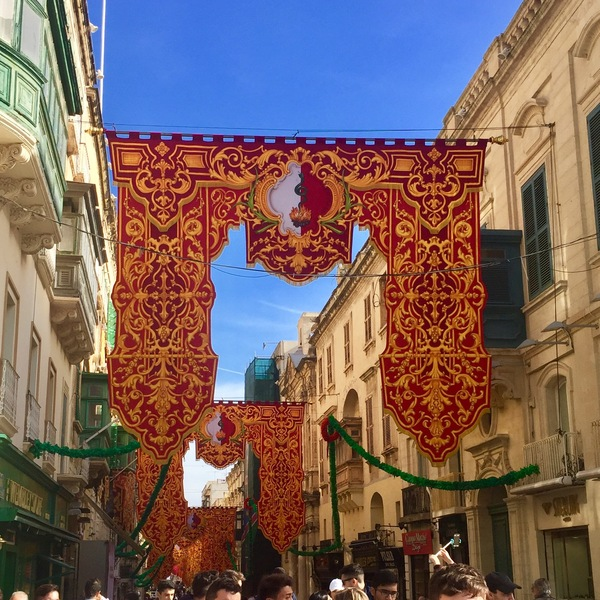 "Banners were hung throughout Valletta, celebrating the Saint Paul shipwreck.<a href=""/reason/images/744502_orig.jpg"" title=""High res"">∝</a>"