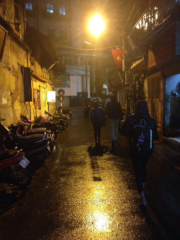 Our final walk through Hanoi as we leave the city and head towards the airport.