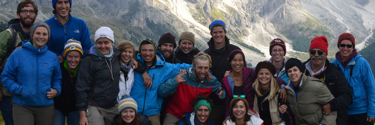Students study Environmental Studies abroad in Italy (2015-2016)