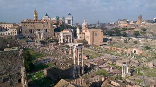 "The ancient Roman Forum! These ruins are constantly excavated and new archeological finds are constantly uncovered!<a href=""/reason/images/673524_orig.jpg"" title=""High res"">∝</a>"