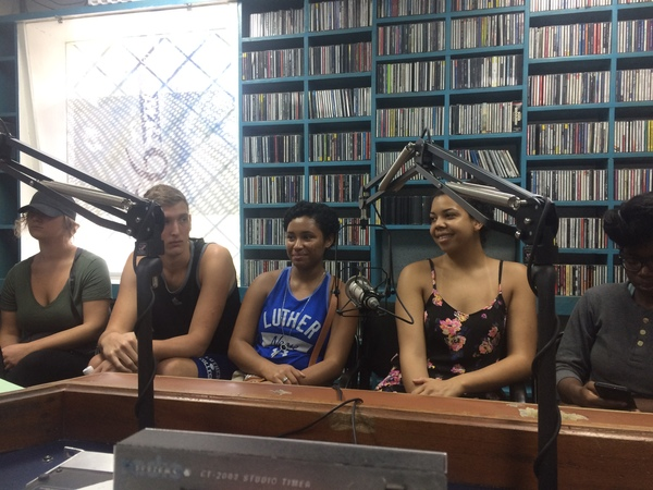 "On Air at UWI's radio station<a href=""/reason/images/742526_orig.jpg"" title=""High res"">∝</a>"