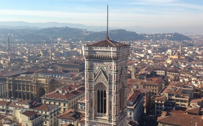 View from the top of the Duomo!