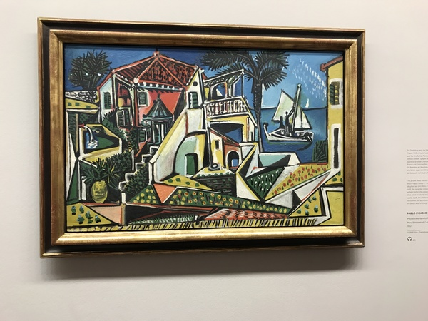 "Picasso's ""Mediterranean Landscape"" at the Alberina<a href=""/reason/images/796530_orig.jpg"" title=""High res"">∝</a>"