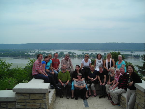 2011 participants at Mississippi River.