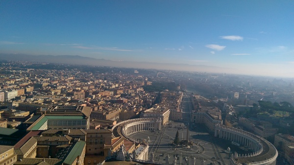 "From the top of St. Peter's Basilica. Astounding.<a href=""/reason/images/673538_orig.jpg"" title=""High res"">∝</a>"
