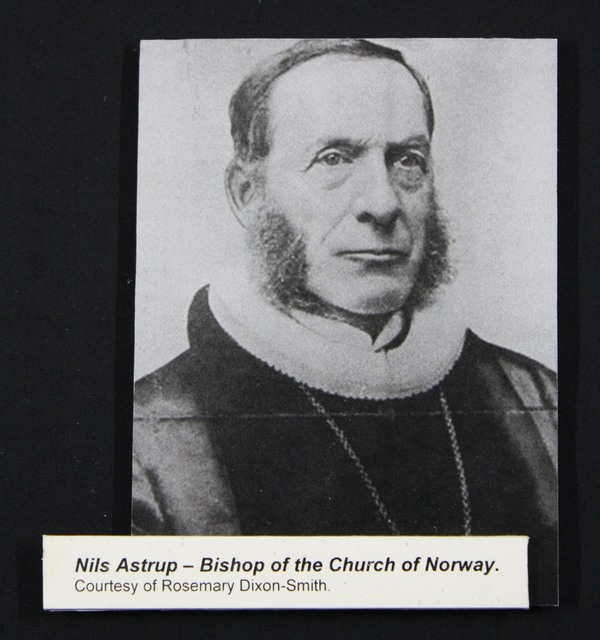 Nils Astrup - Bishop of the Church of Norway.