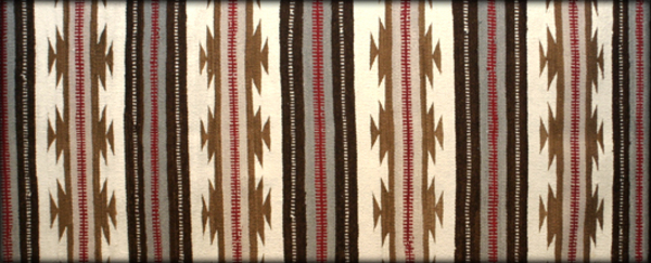 Navajo rugs from the collection of Deborah Norland & Jim Bovee