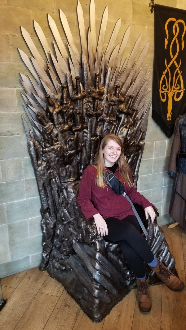 "Game of Thrones chair at the pub!<a href=""/reason/images/809547_orig.jpg"" title=""High res"">∝</a>"