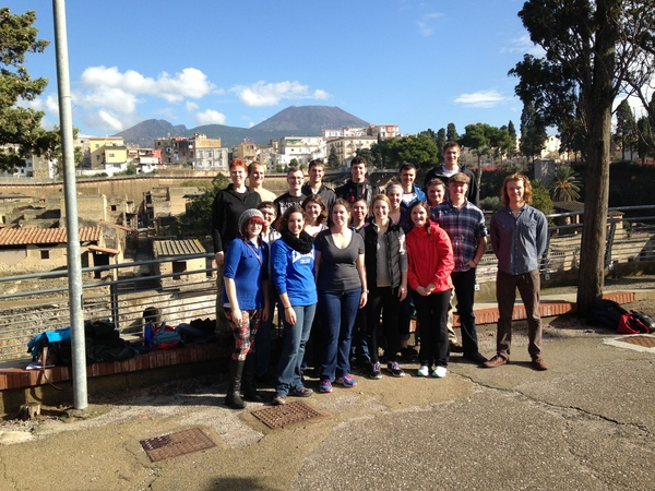 "Norse at Herculaneum. Note the beautiful weather (and Mt.Vesuvius in the background)<a href=""/reason/images/602566_orig.jpg"" title=""High res"">∝</a>"