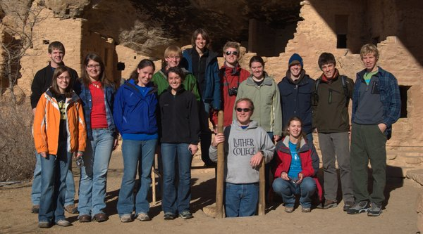 Ecology of the Desert SW course at Mesa Verde.