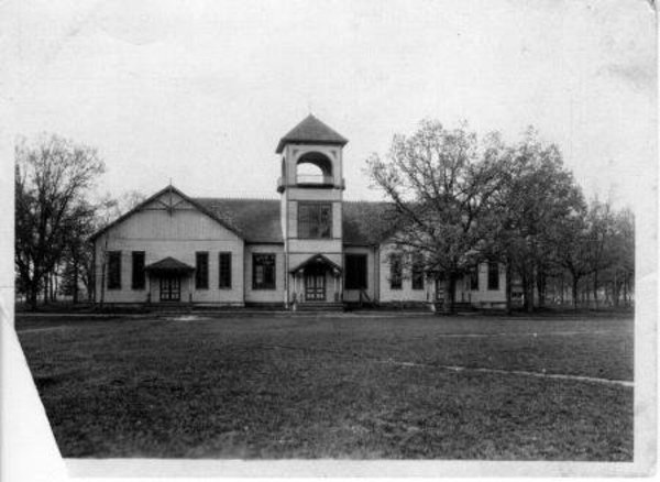 The first Luther College gymnasium was built in 1886. Located near the current site of the Dahl Centennial Union, the building measured 42 by 75 feet. The lead fund-raiser for the building was a student, Carlo Sperati, who would later return to teach at the college and direct the concert band for 40 years.