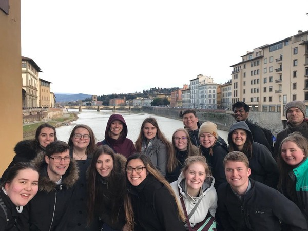 "The group on the Ponte Vecchio.<a href=""/reason/images/896604_orig.jpg"" title=""High res"">&prop;</a>"