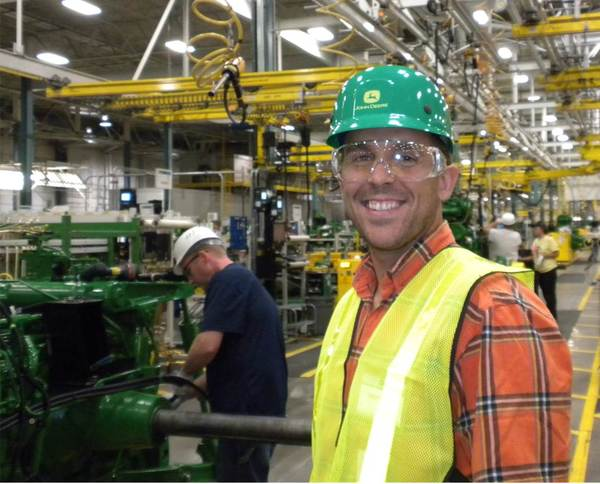 Touring the John Deere factory in Waterloo, IA
