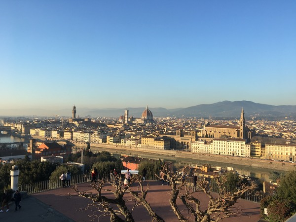 "The view of Florence from Piazzale Michelangelo.<a href=""/reason/images/896608_orig.jpg"" title=""High res"">&prop;</a>"