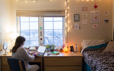 Life in a Residence Hall photo.