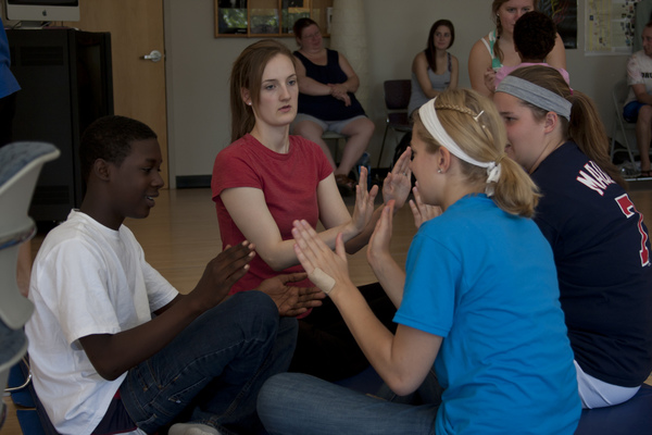 Prof. Jane Hawley's Dance and Motion Workshop: October 2011