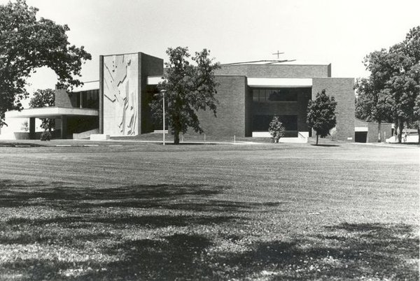 "The Center for Faith and Life was dedicated on Oct. 16, 1977 and was designed to be a place for both music and chapel following the fiery end of Preus Gymnasium. The combined chapel-auditorium-fine arts building was first proposed in 1962 as part of George Wickstead's campus plan. A chapel building committee was formed in order to ensure that the entire campus community's religious needs were addressed. After several years of construction on other buildings on campus (Regents Towers, Preus Library, and Dahl Centennial Union), the Vanguard Campaign was launched in 1969, which was the fund raising campaign to find $1.5 million to begin the construction of the Center for Faith and Life (CFL). Ground was broken on March 24, 1975, and while not complete yet, the building opened in 1977. The total building costs came to nearly $4 million. Today the CFL is used throughout the week for chapel, as well as on Sunday mornings for Campus Worship. During the academic year, the building is used for the Center Stage Series which brings in outside performing groups to the Luther College Campus.<a href=""/reason/images/469640_orig.jpg"" title=""High res"">∝</a>"