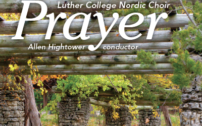 "Luther College, ""Prayer"" album cover"
