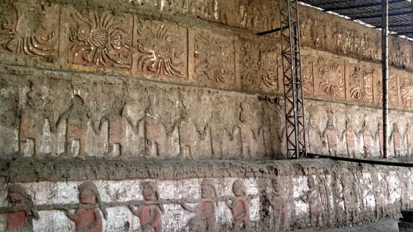 Looking at the well-preserved intricate wall designs, we could tell that the people possessed artistic qualities.