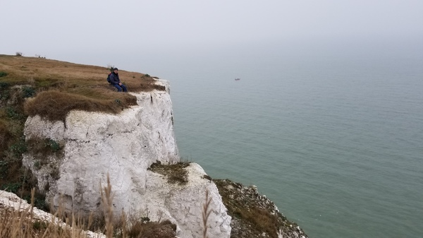 "Karl decided to climb out on some cliffs!<a href=""/reason/images/791658_orig.jpg"" title=""High res"">∝</a>"
