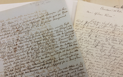 Humanities collection of letters