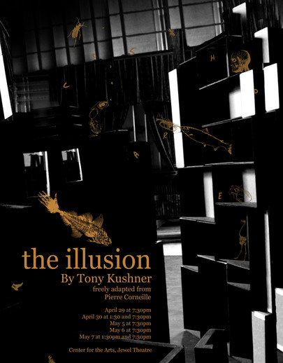 "Poster for ""The Illusion"""