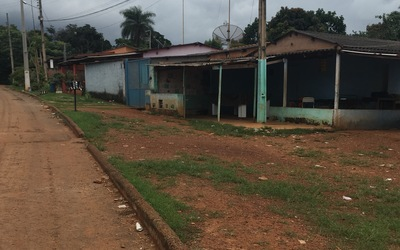 Houses in a poor community in Brasília