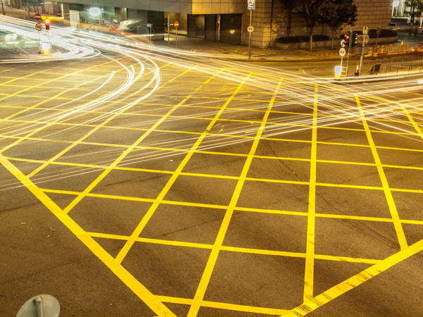 "A busy intersection in Hong Kong- Practicing our blurring<a href=""/reason/images/601678_orig.jpg"" title=""High res"">∝</a>"
