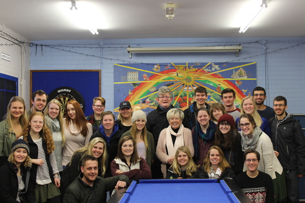 "Our class at the Cathedral Club, an organization that helps bridge communities in Derry<a href=""/reason/images/801690_orig.jpg"" title=""High res"">∝</a>"