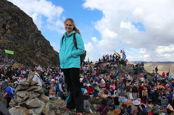 "Me on a mountain top in Huancayo, Peru during a festival for Mother Earth.<a href=""/reason/images/666692_orig.jpg"" title=""High res"">∝</a>"