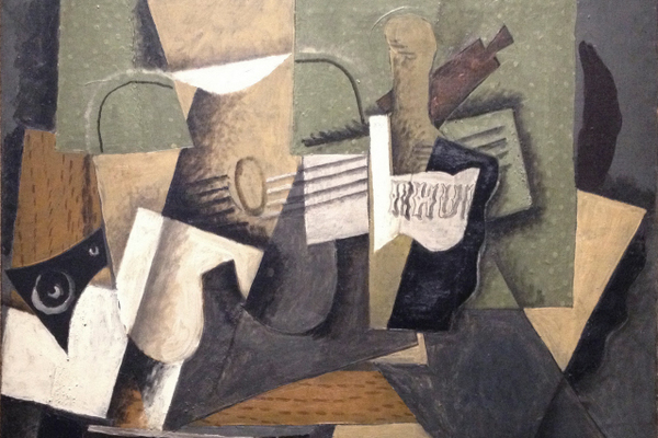 """Ruhm et guitare"" by Georges Braque"