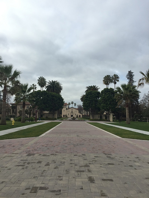 We were able to visit the beautiful Santa Clara University twice!