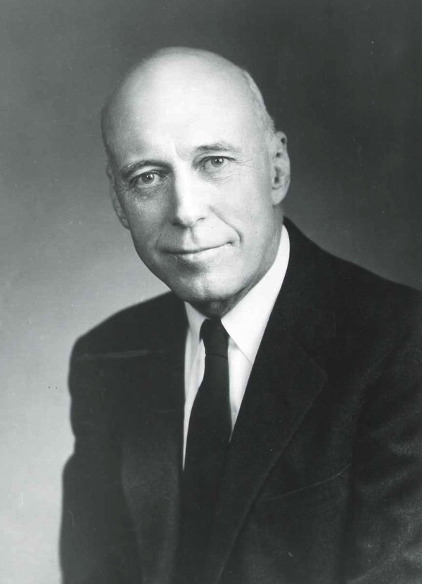 Dr. O. W. Qualley, photograph courtesy of Luther College Archives