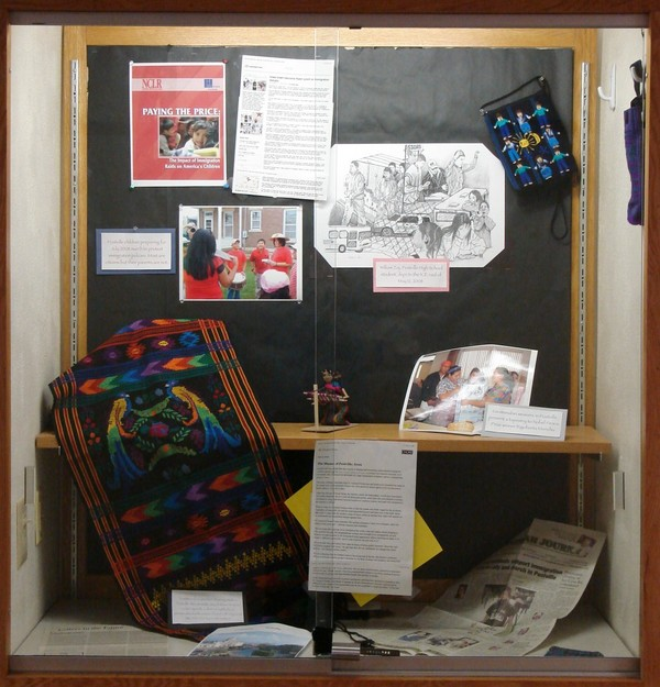 Display case for Spanish