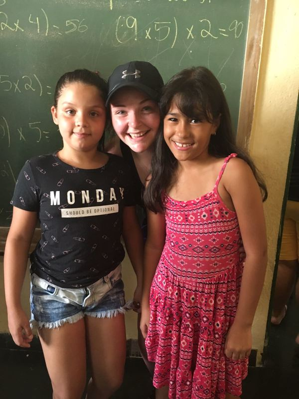 Students at the NGO in Rochina Favela in Rio