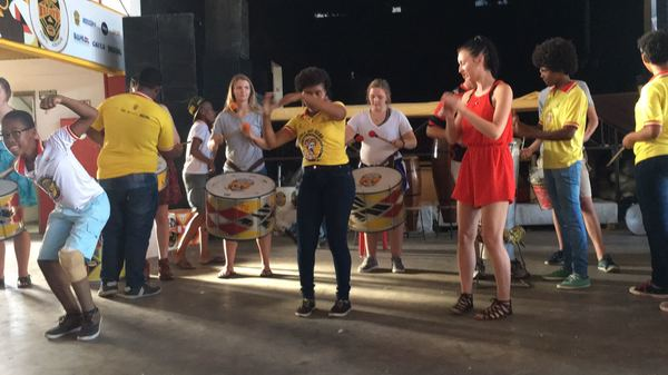 "Learning to play the drums at an NGO in Salvador<a href=""/reason/images/742726_orig.jpg"" title=""High res"">∝</a>"