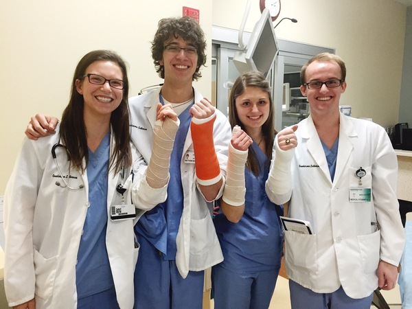 Luther students intern at Gundersen Lutheran Hospital.